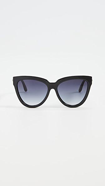 Le Specs Liar Liar Sunglasses In Blacksmoke