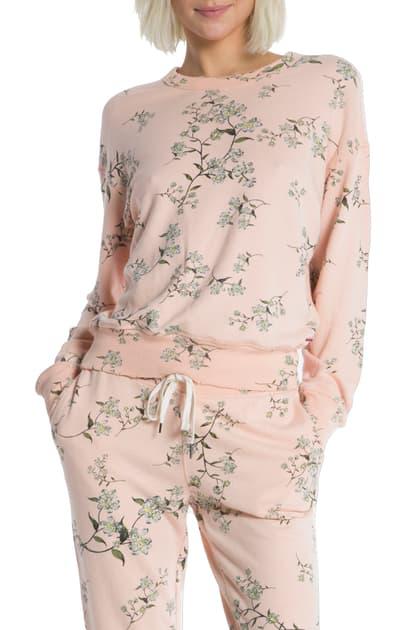 N:philanthropy Lauren Floral Pullover In Nude Sunset Ditsy
