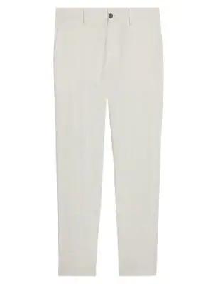 Theory Men's Slim-fit Zaine Sw Eco Crunch Pants In Balsa