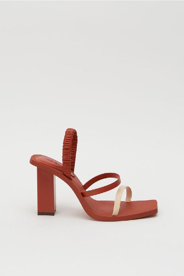 Jaggar Utility Slingback Sandal In Rust