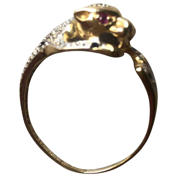 Creative Recreation Gold Yellow Gold Ring