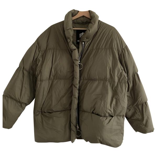 Pre-owned Ienki Ienki Khaki Coat