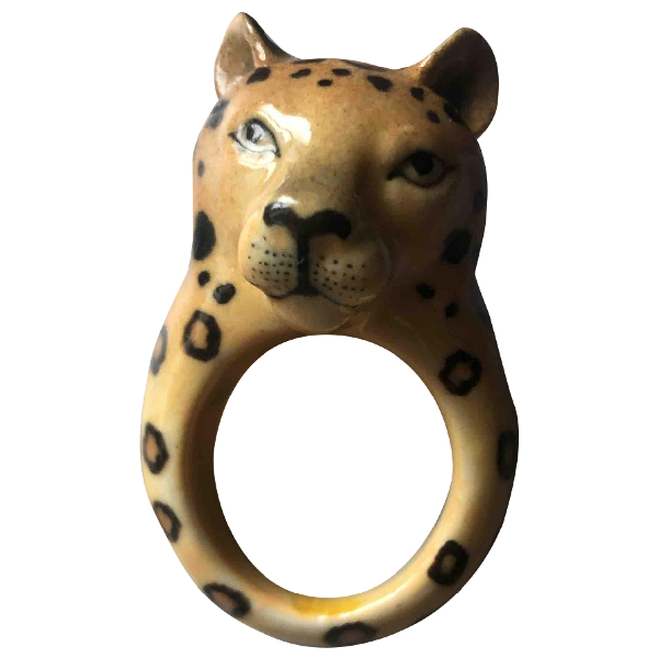 Creative Recreation Camel Ceramic Ring