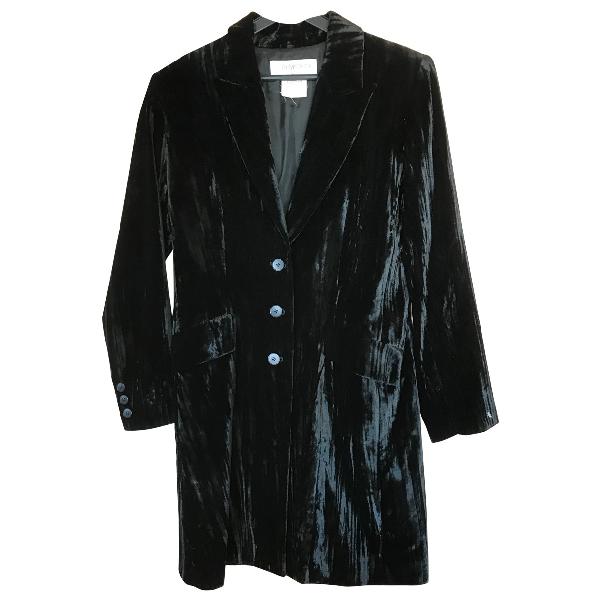 Saint Laurent Black Velvet Jacket