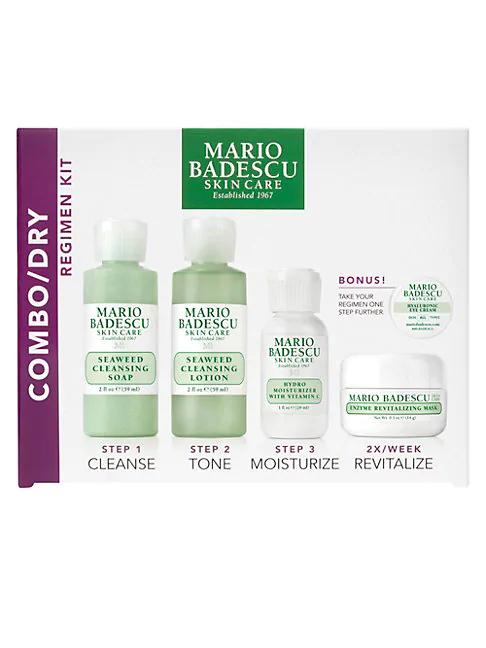 Mario Badescu Combination & Dry Skin Regimen Kit