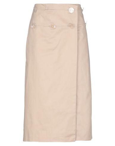 Christopher Esber Midi Skirts In Light Brown