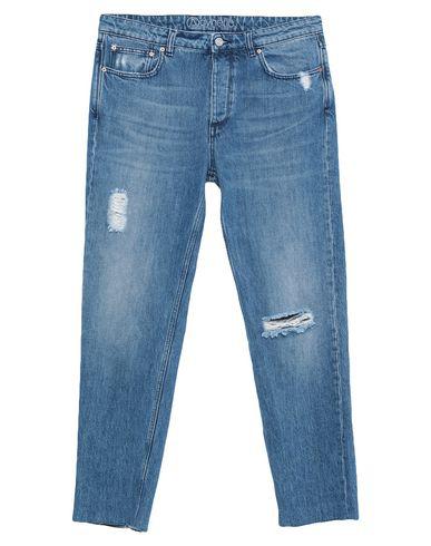 Acynetic Denim Pants In Blue