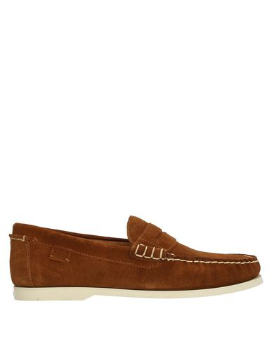 Polo Ralph Lauren Loafers In Camel