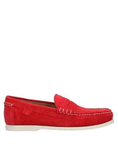 Polo Ralph Lauren Loafers In Red