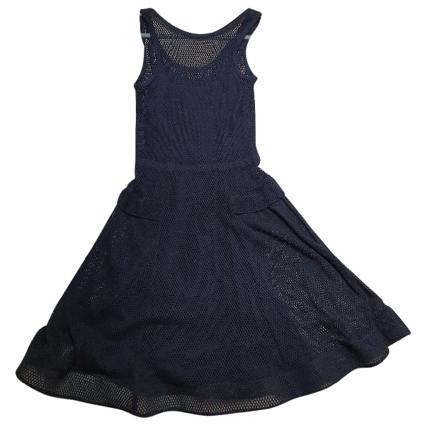 Marc By Marc Jacobs Black Cotton Dress