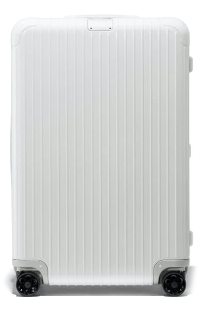 Rimowa Essential 31-inch Wheeled Suitcase In White