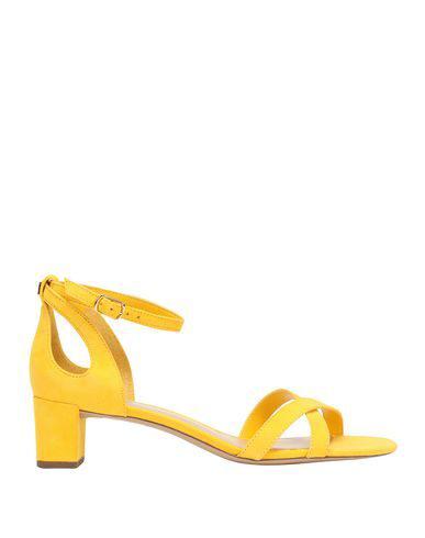 Lauren Ralph Lauren Sandals In Yellow