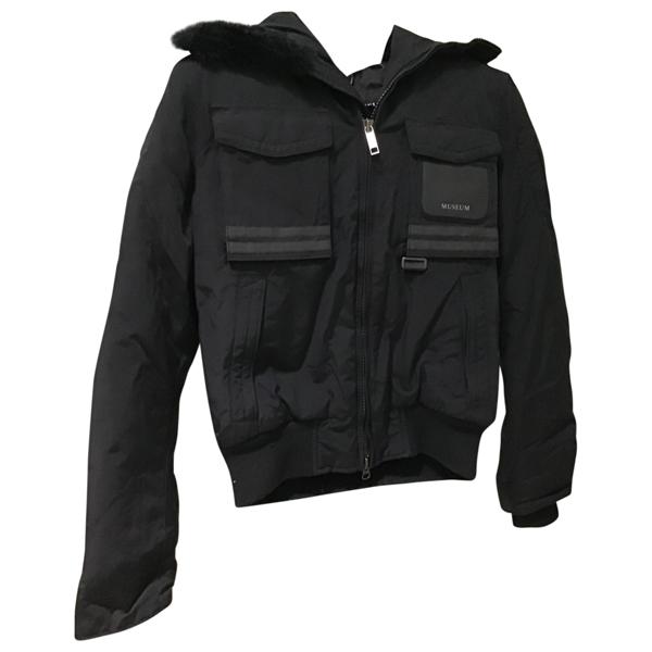 Museum Black Cotton Jacket