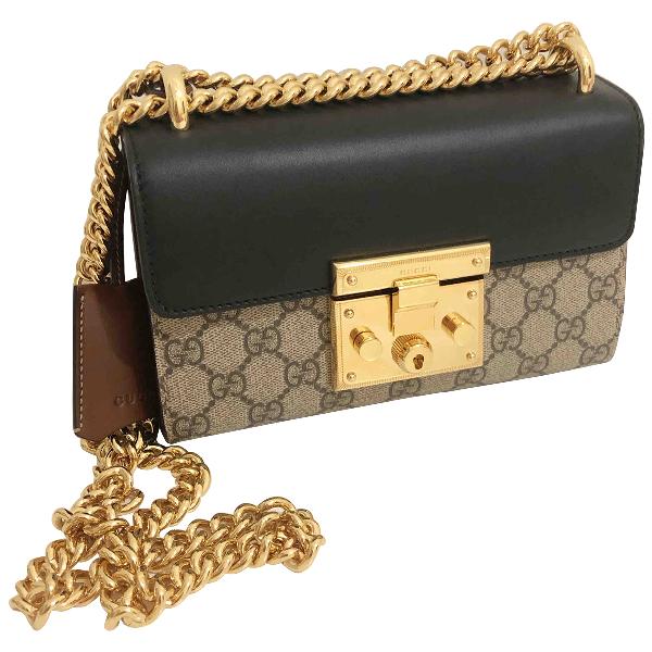 Gucci Padlock Cloth Handbag