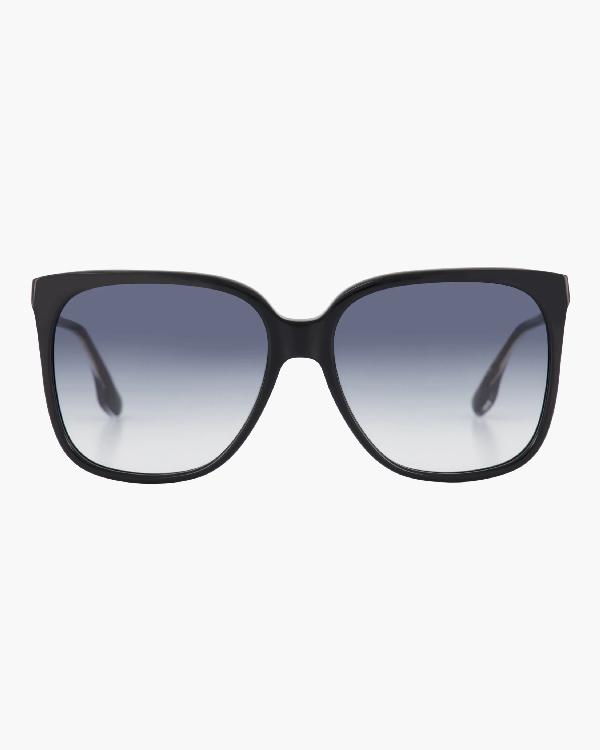 Victoria Beckham Core 59mm Square Gradient Sunglasses In Black