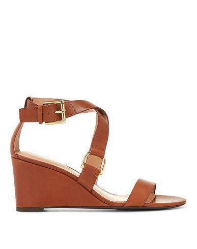 Lauren Ralph Lauren Sandals In Brown