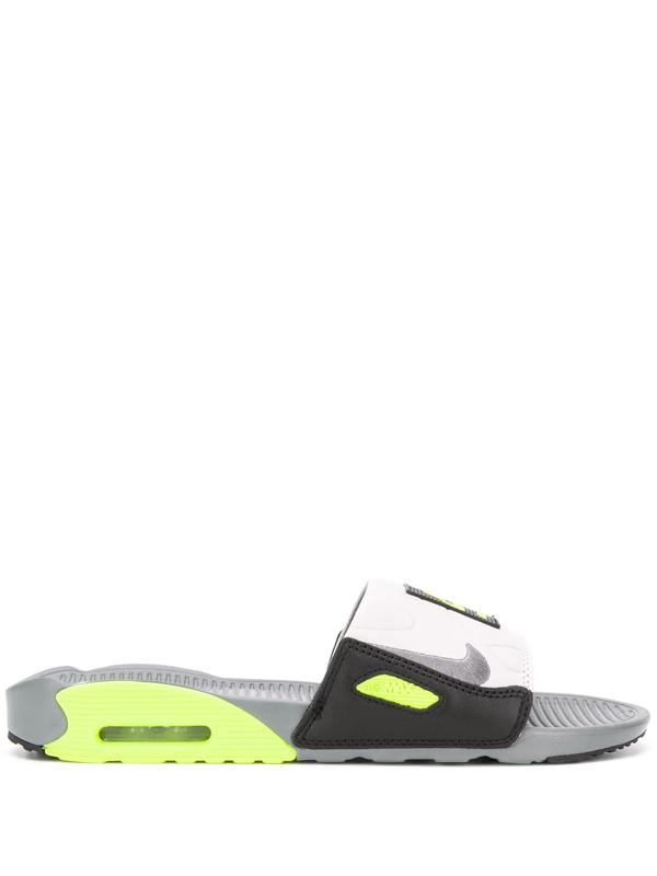 Nike Air Max 90' Slide Grey White Slippers