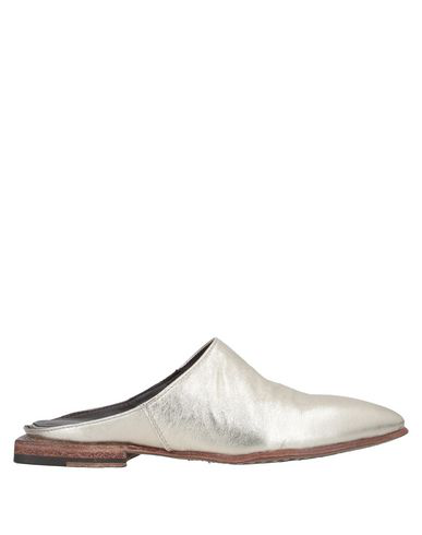 Le Ruemarcel Mules And Clogs In Platinum