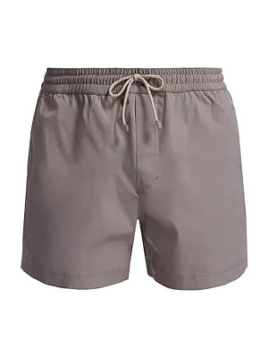 Brunello Cucinelli Men's Swim Trunks In Green