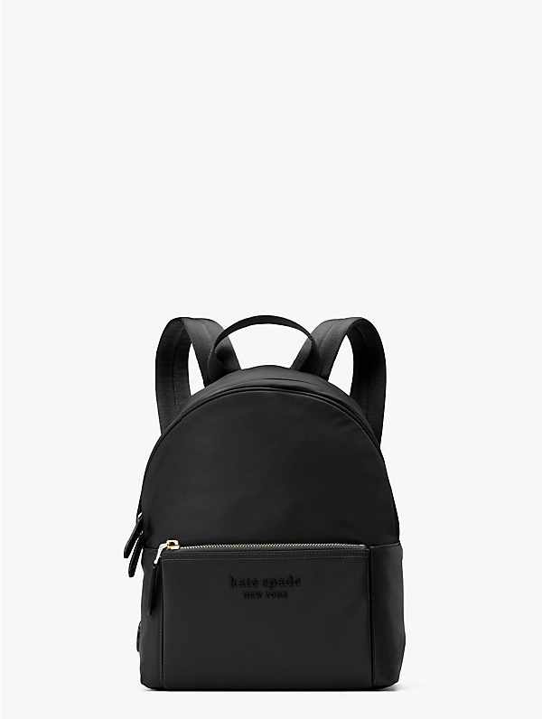 Kate Spade Nylon City Pack Medium Backpack In Black