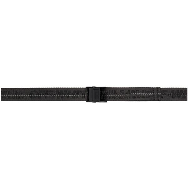 Off-white Industrial Belt Belts In Black Tech/synthetic In 1000 Black