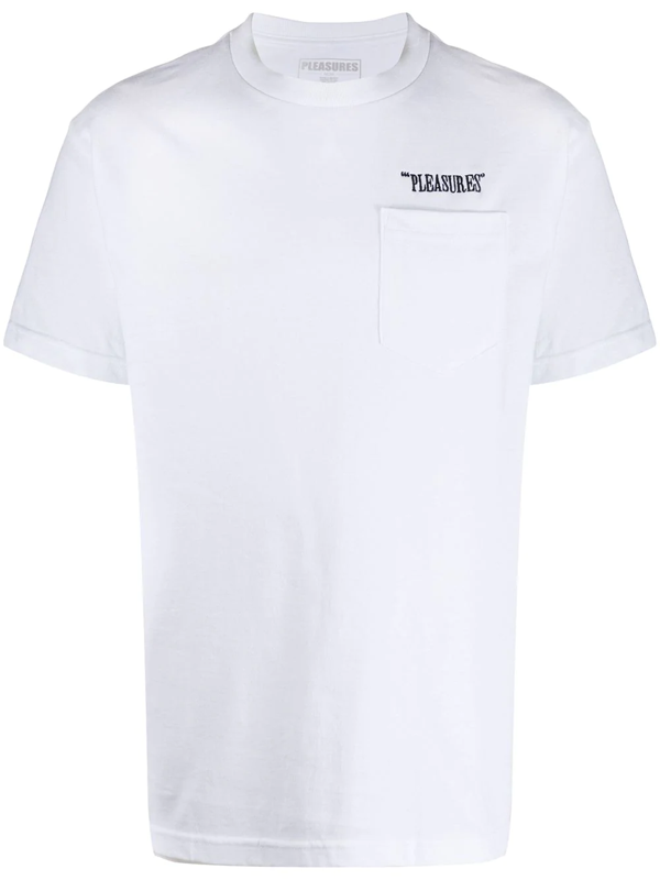 Pleasures Balance White Cotton T-shirt