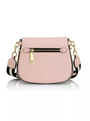 Marc Jacobs Women's Small Nomad Leather Crossbody Bag In Blush