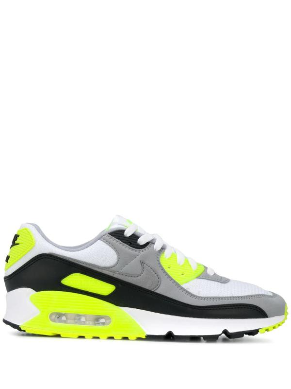 Nike Air Max 90 Low-top Sneakers In 103volt
