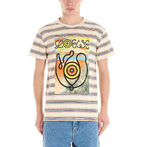 Loewe Multicolor Cotton T-shirt
