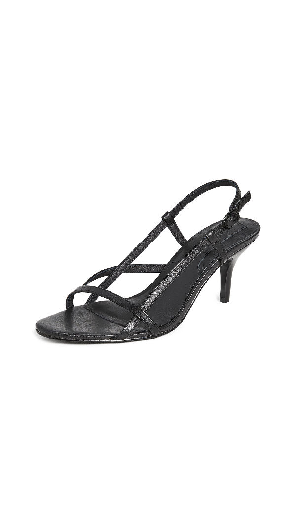 Jaggar Harness Sandals In Black