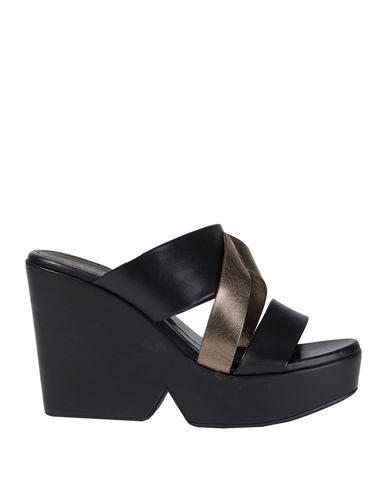 Robert Clergerie Sandals In Black
