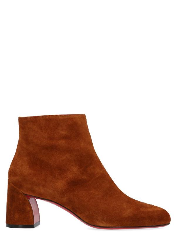 Christian Louboutin Turela Shoes In Brown