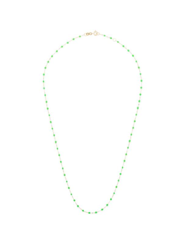 Gigi Clozeau 18k Yellow Gold 50 Cm Beaded Necklace
