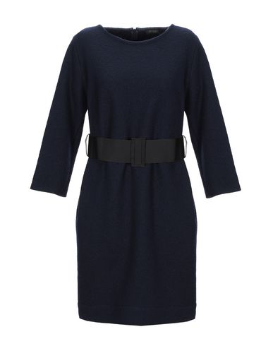 Antonelli Short Dress In Dark Blue