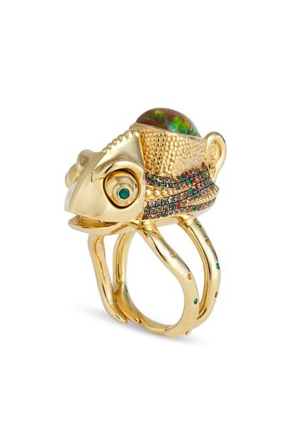 Daniela Villegas Beatrix Potter Ring In Yellow Gold