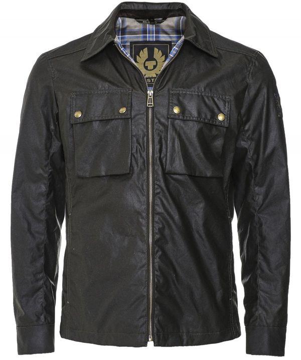 Belstaff Waxed Cotton Dunstall Jacket Colour: Brown