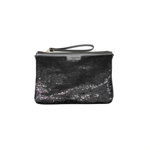 Lancaster Clutch Bag In Black