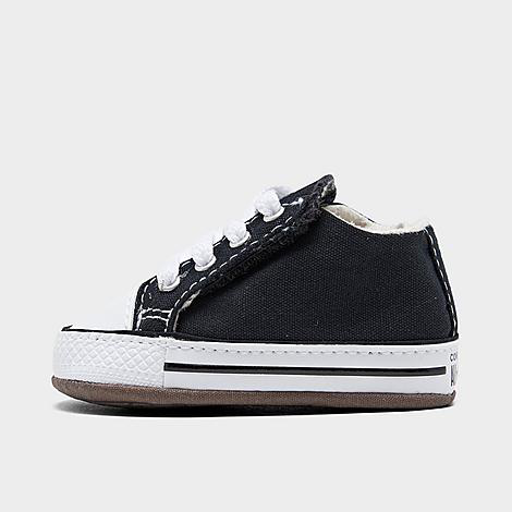 Converse Kids'  Boys' Infant Chuck Taylor All Star Cribster Crib Booties In Black