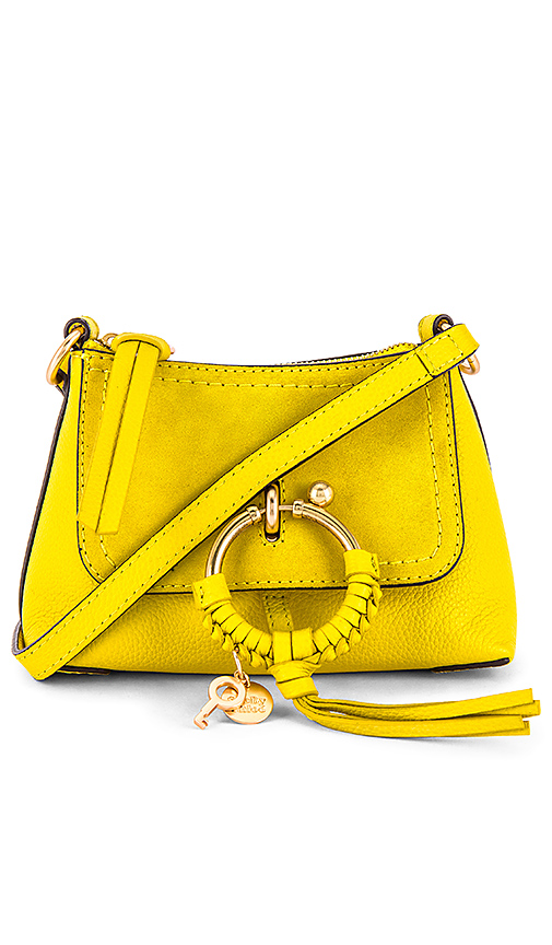 See By ChloÉ Mini Joan Crossbody In Verdant Yellow