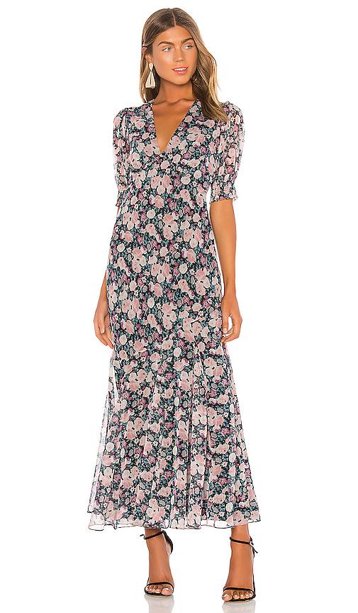 Saylor Alana Dress In Multi