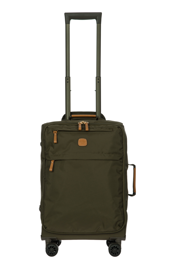 Bric's X-bag 21 Carry-on Spinner Trolley In Olive Green