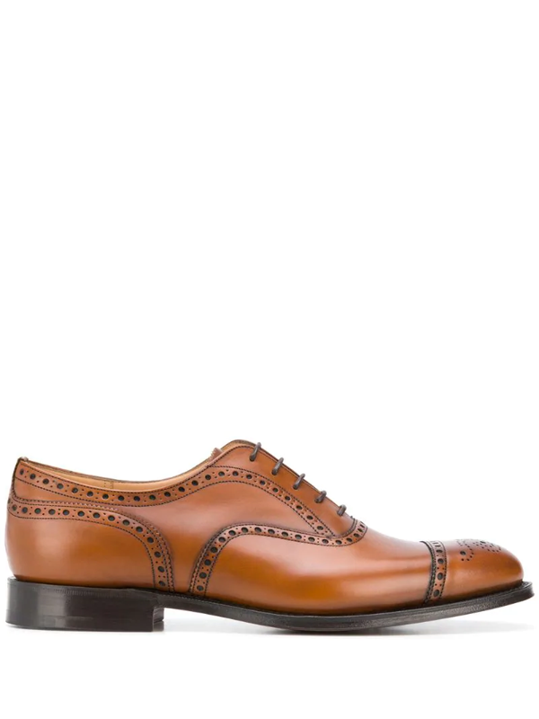 Church's Men's City Collection Toronto Leather Brogues In Brown