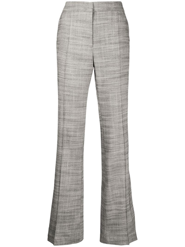 Dorothee Schumacher Structured Ambition Trousers In Grey