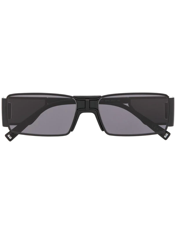 Givenchy Square Frame Sunglasses In Black