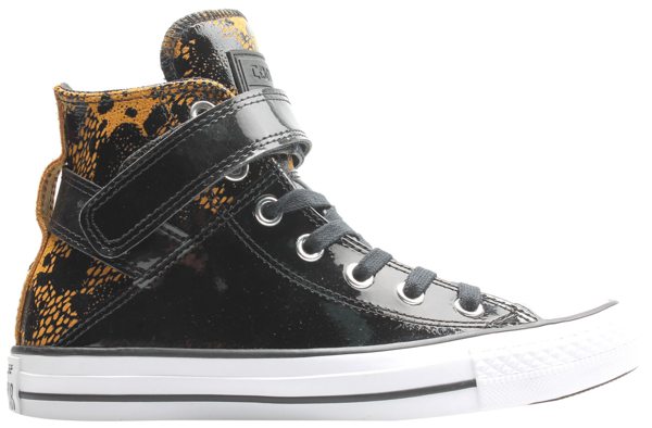 Pre-owned Converse  Chuck Taylor All-star Brea Hi Antiqued Black (w) In Antiqued/black