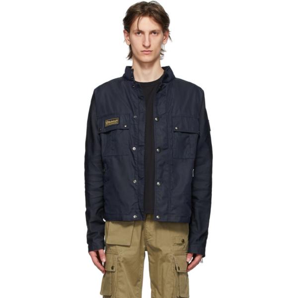 Belstaff Instructor Nylon Jacket In 80092 Drkin