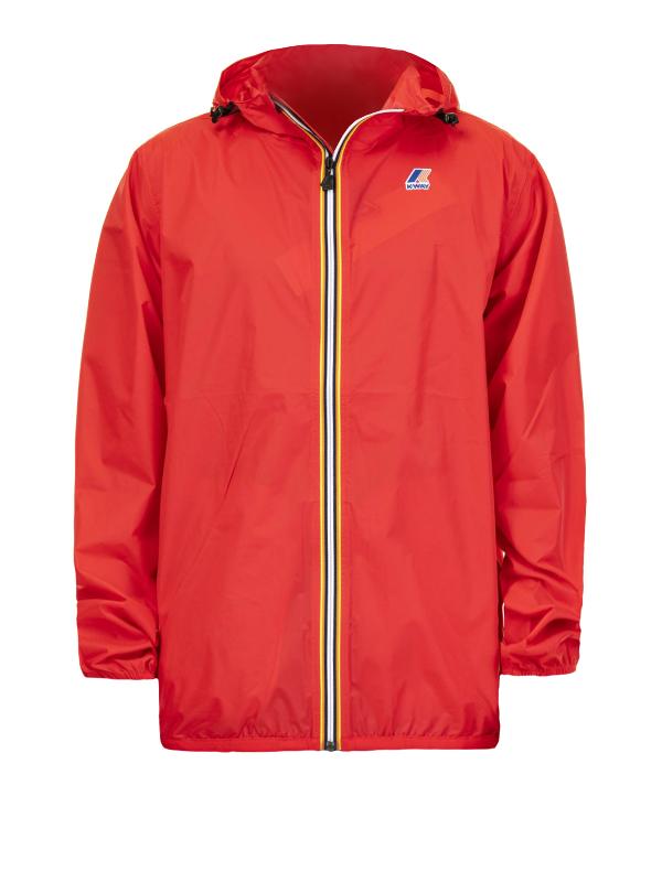 K-Way Mens LE VRAI 3.0 Claude Packable Jacket Red S
