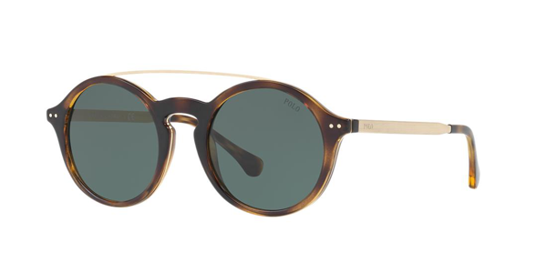 Polo Ralph Lauren Ph4122 500371 Sunglasses In Brown