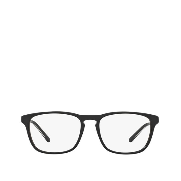 Polo Ralph Lauren Black Acetate And Metal Frame Squared Glasses