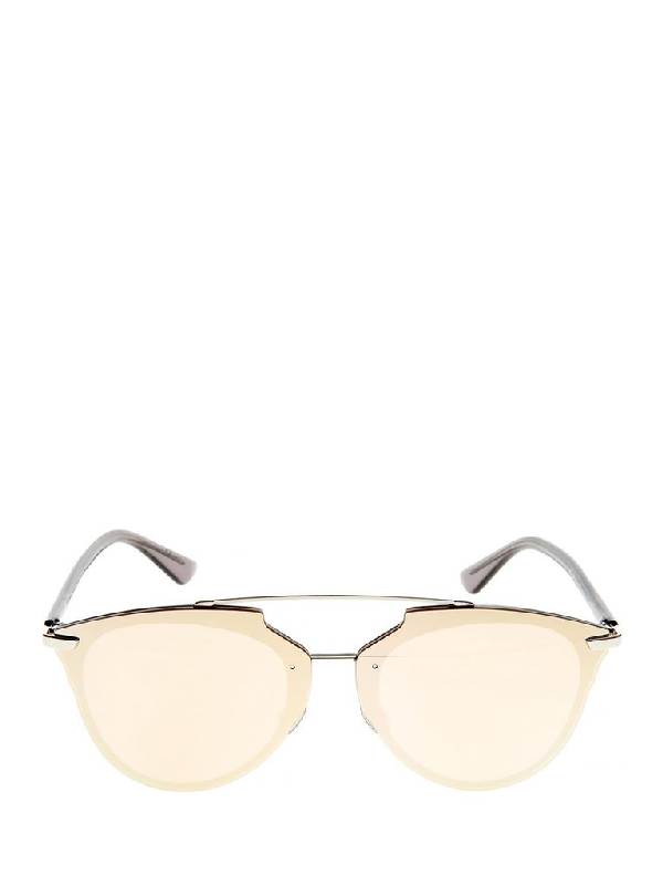 Dior Eyewear Mirrored Lens Sunglasses In Multi